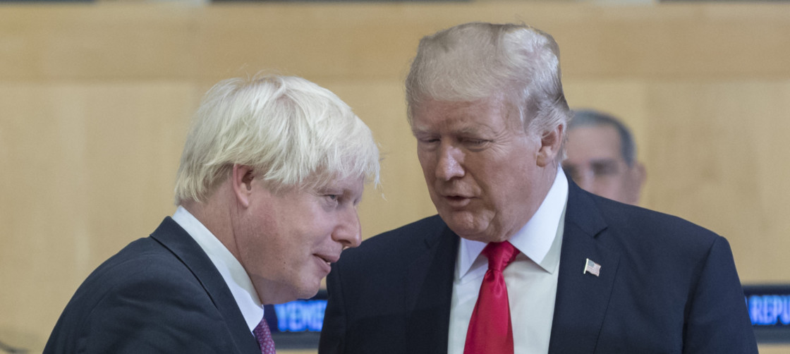 donald trump jumps into uk politics pushing boris johnson plus cuba travel restriction 2019 image