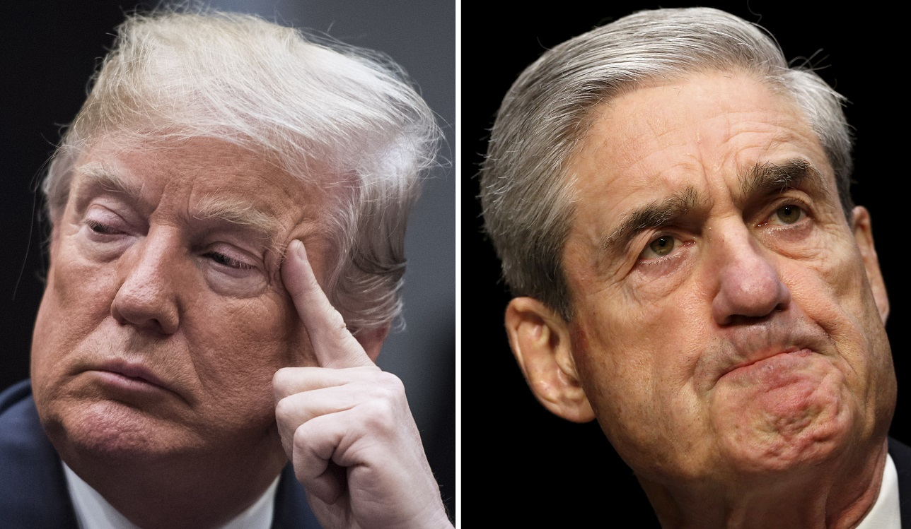 Donald Trump vs Robert Mueller Congressional testimony in July 2019