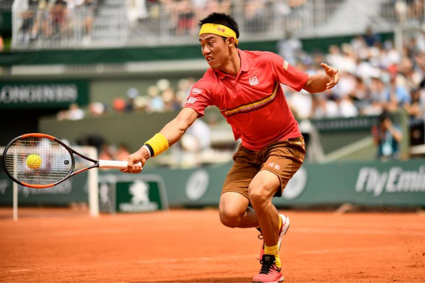 kei nishikori beats benoit paire french open 2019