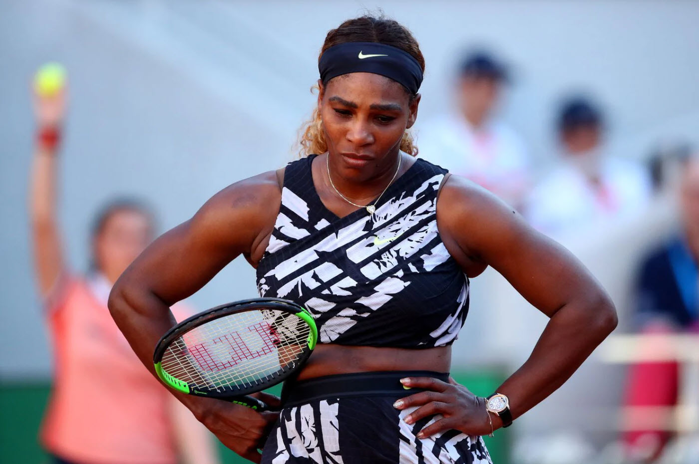 serena williams out of french open defeated by sofia kenin