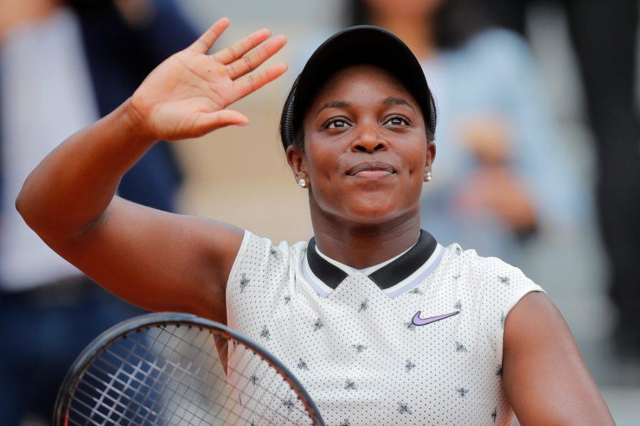 sloane stephens makes french open final 2019