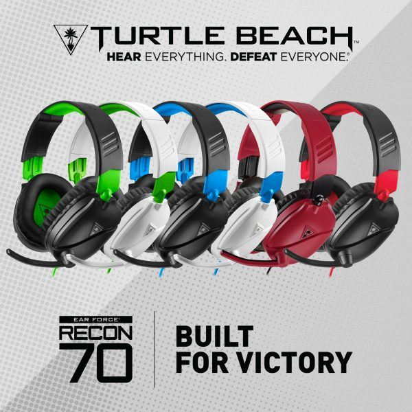 turtle beach recon 70 various colors for game consoles