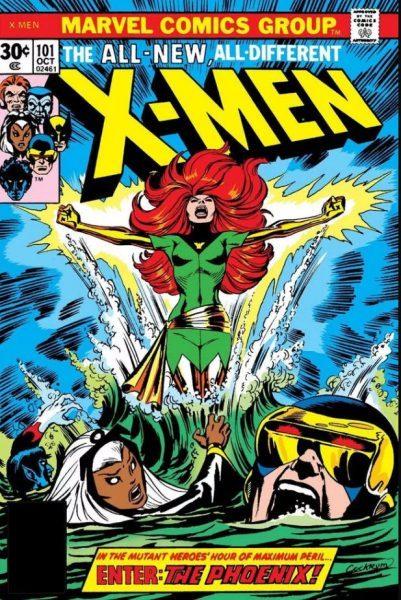 x men comics premiering dark phoenix