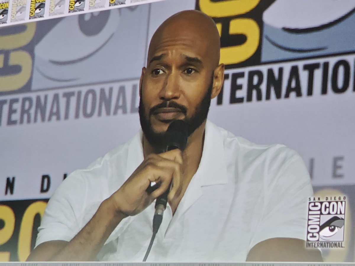 Henry Simmons agents of shield comic con panel 2019