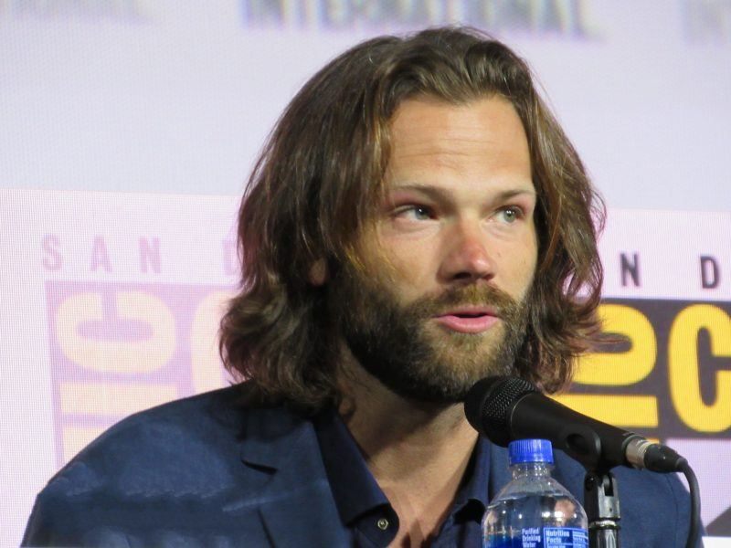 Jared Padalecki bearded up for SPN final Comic Con panel 2019