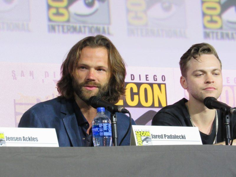 Jared Padalecki lucky to be part of Supernatural family with Alex Calvert Comic Con 2019