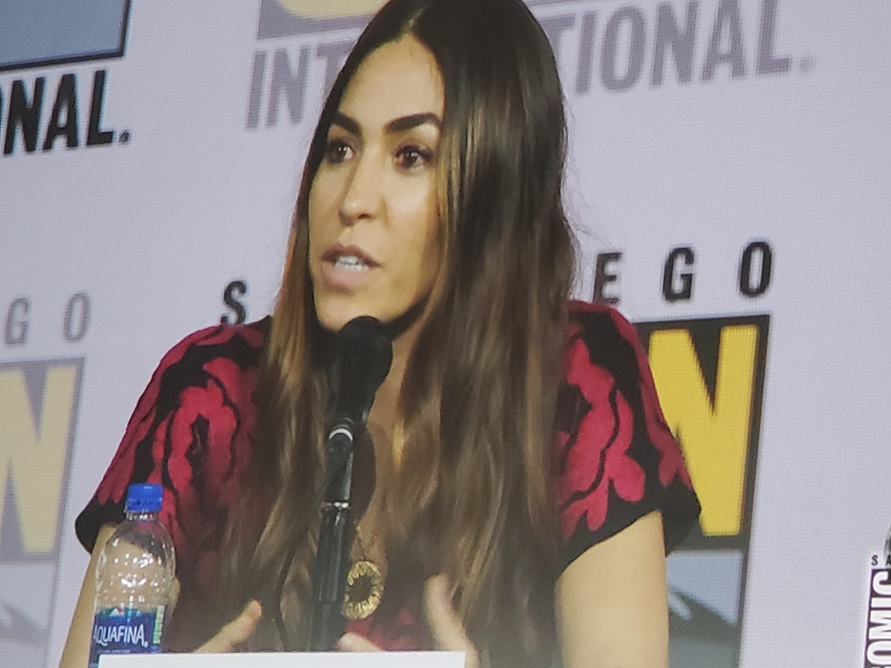 Natalia cordova buckley comic con final agents of shield panel 2019