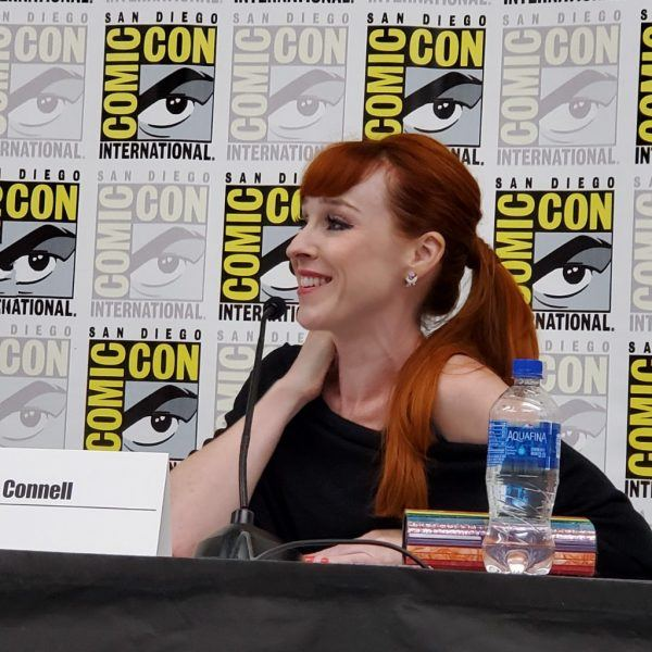 Ruth Connell on Supernatural at Comic Con 2019