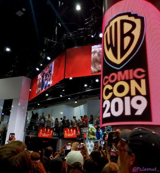 Supernatural Comic Con 2019 crowd