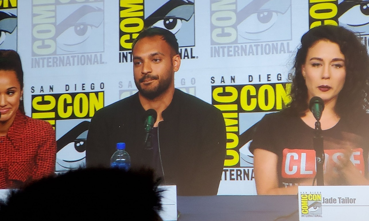The Magicians Arjun Gupta and Jade Tailor MTTG Comic Con Panel 2019