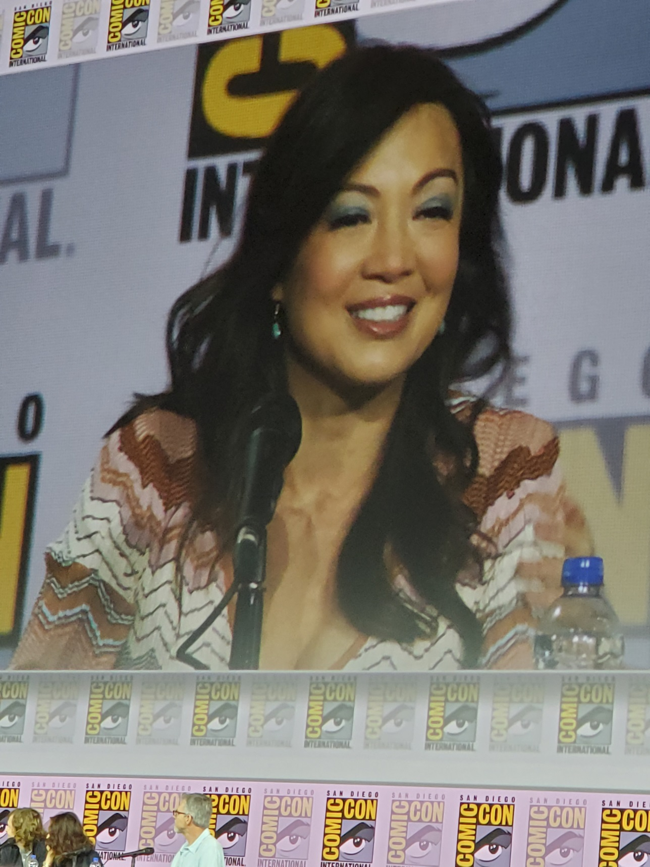 agents of shield ming na wen at comic con 2019