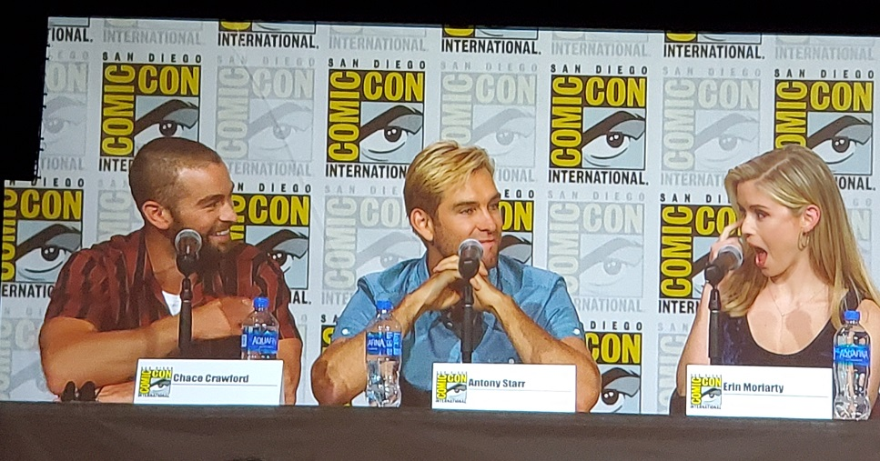 chace crawford antony starr erin moriarty boys comic con panel 2019