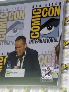 clark gregg thanking agents of shield fans at final comic con panel 2019
