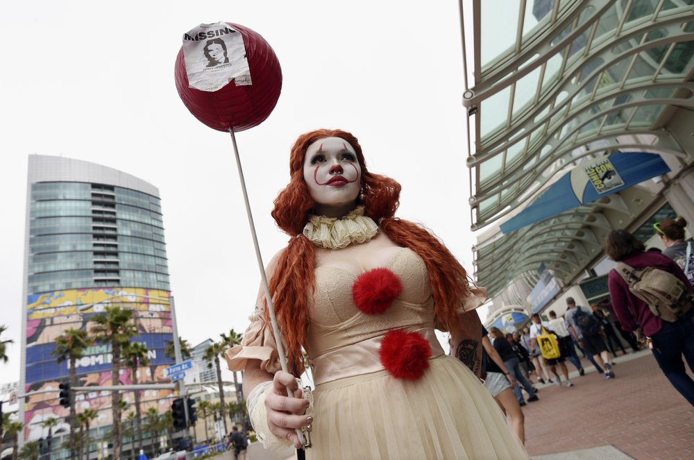 comic con 2019 princess pennywise hits