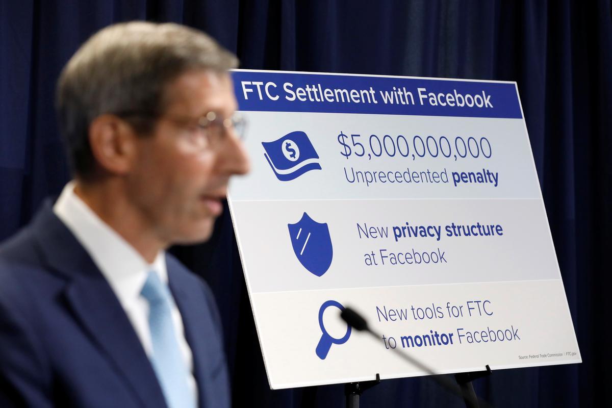 ftc 5 billion dollar settlement with facebook slap on wrist