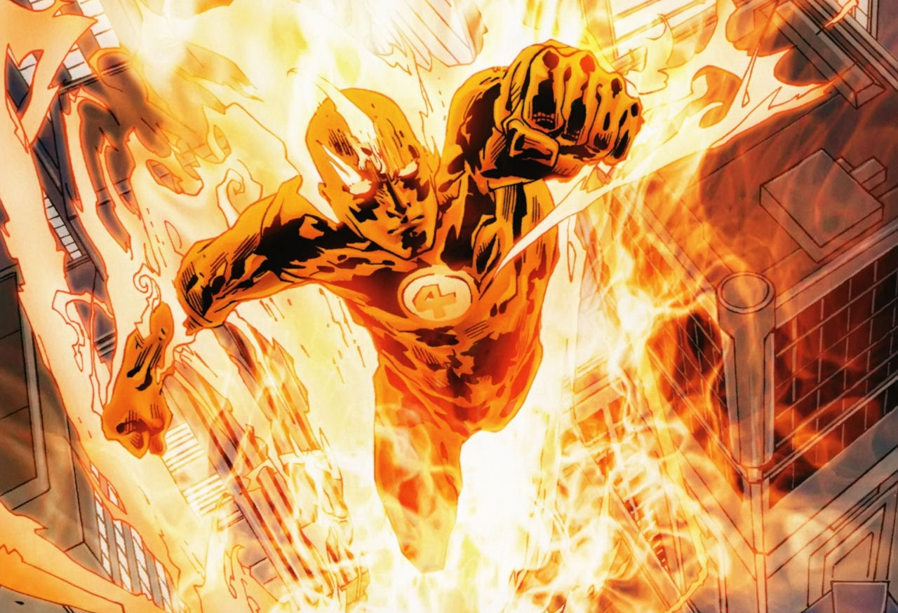 marvel human torch first superhero character