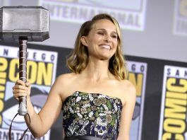 marvel phase 4 hits comic con 2019 thor goes portman images