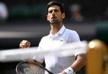 novak djokovic starts wimbledon winning 2019 images
