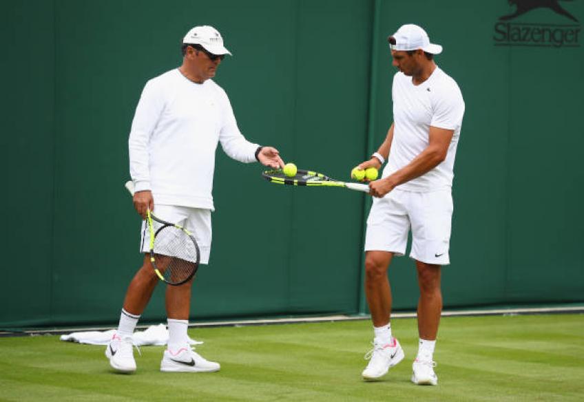rafael nadal uncle tennis coach