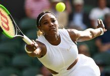 serena williams showing her winning ways at wimbledon 2019 images