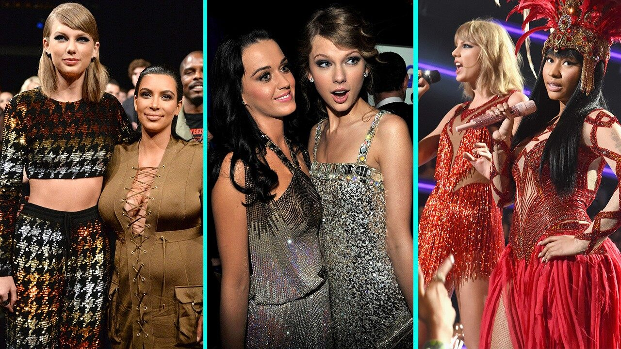 taylor swift recent feuds before scooter braun