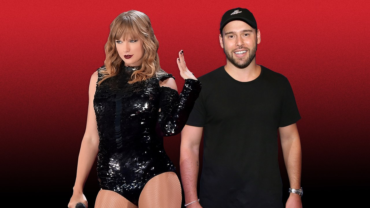 taylor swift versus scooter braun over music controversy 2019 images