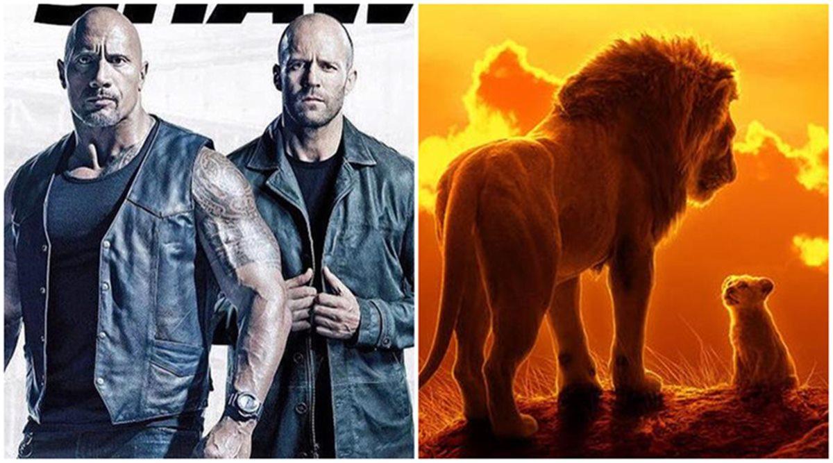 hobbs shaw vs lion king box office winner 2019