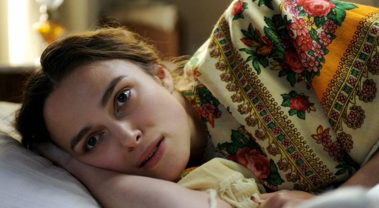 keira knightley sleep session for official secrets