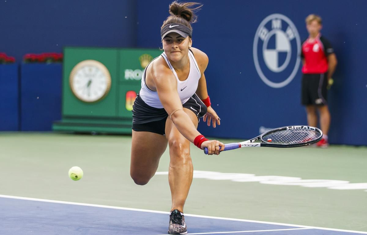 Bianca Andreescu at china open 2019