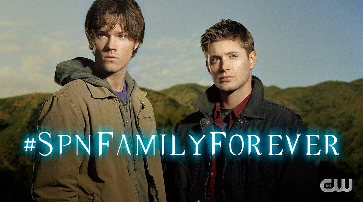 SPNFamilyForever hashtag dean sam winchester supernatural