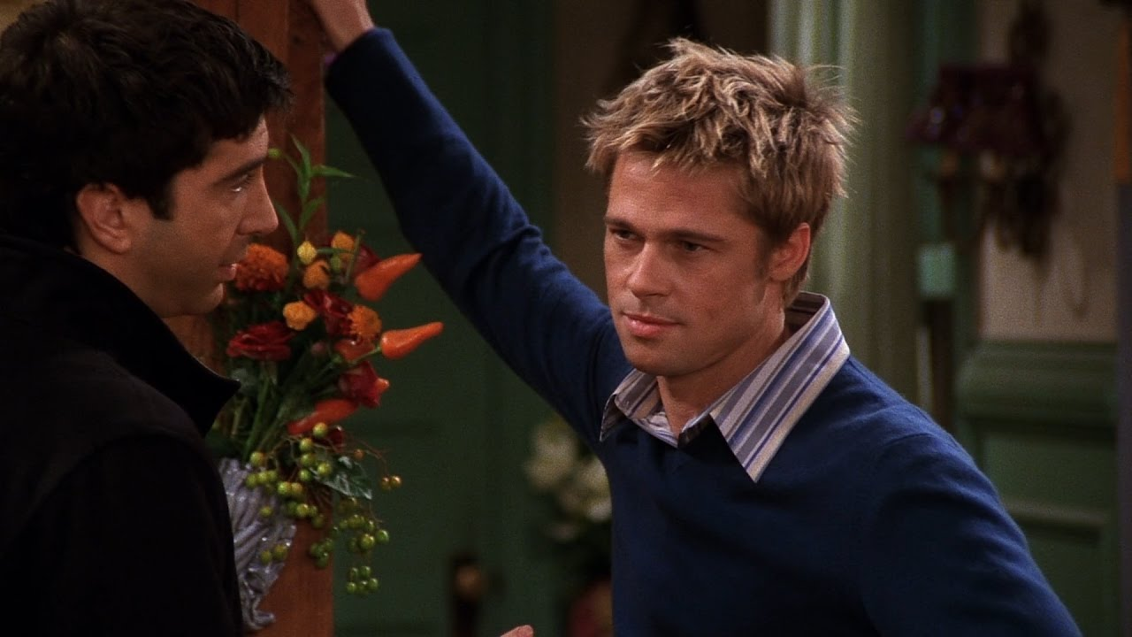 brad pitt on friends funniest episodes 2019