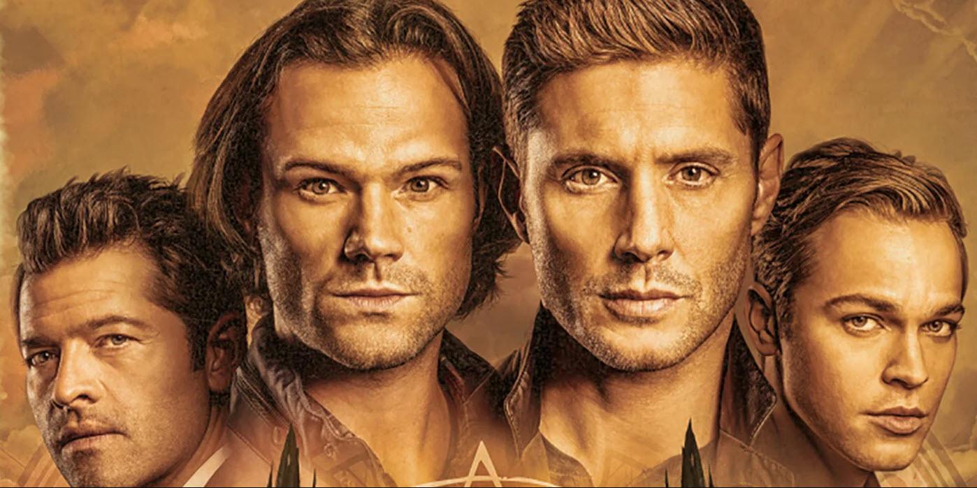 supernatural season 15 poster sam dean winchester