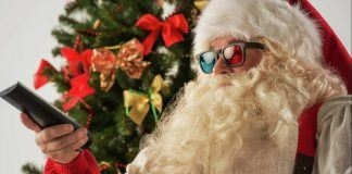 2019 hottest home thater holiday gift guide santa watching 3d images