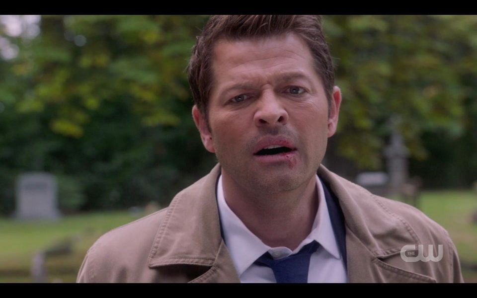 Cas reacting to Dean about killing Balph
