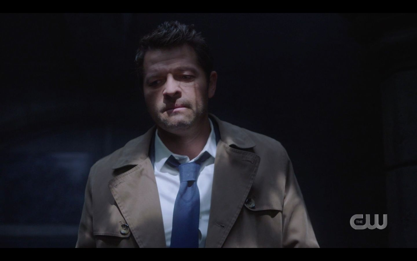 Castiel not happy with Dean Winchester Supernatural 15