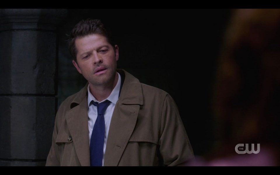 Castiel reacts with dean saying he will go to hell SPN Rupture