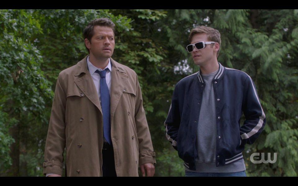 Castiel to Belphagor You dont have any eyes