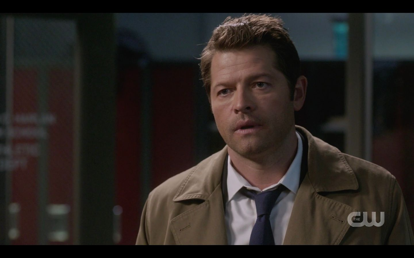 Castiel with Sam Dean Winchester free will argument