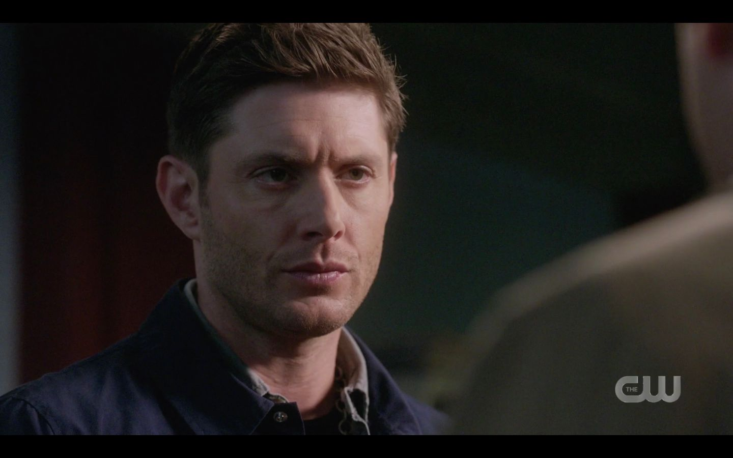 Dean Winchester angry scoff at Cas SPN 1502