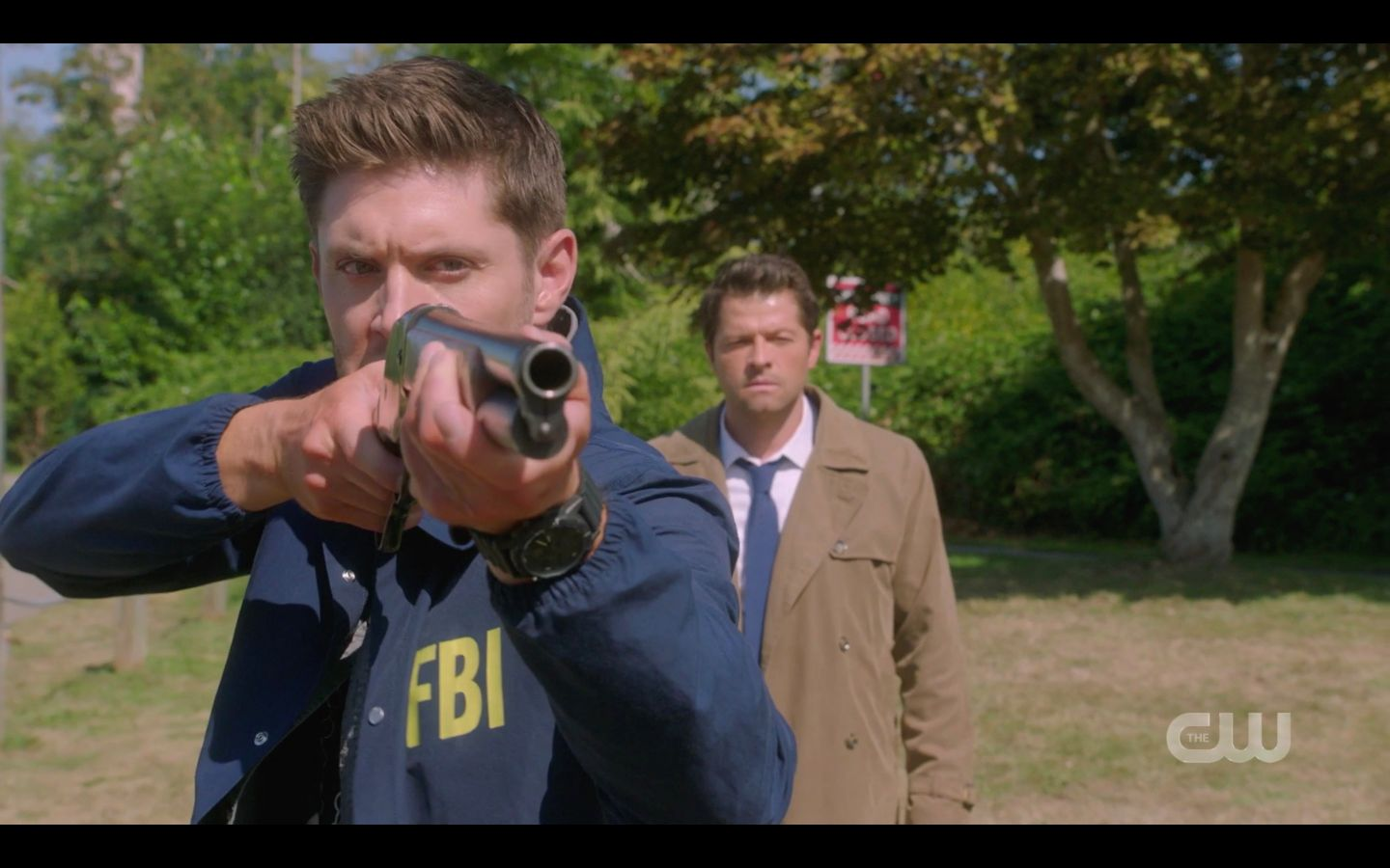 Dean Winchester rifle shot on Ketch Jack the Ripper 1502