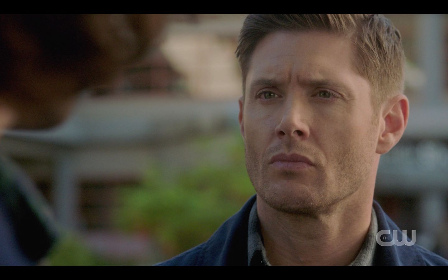 Dean listening to Sam about saving people SPN 1501