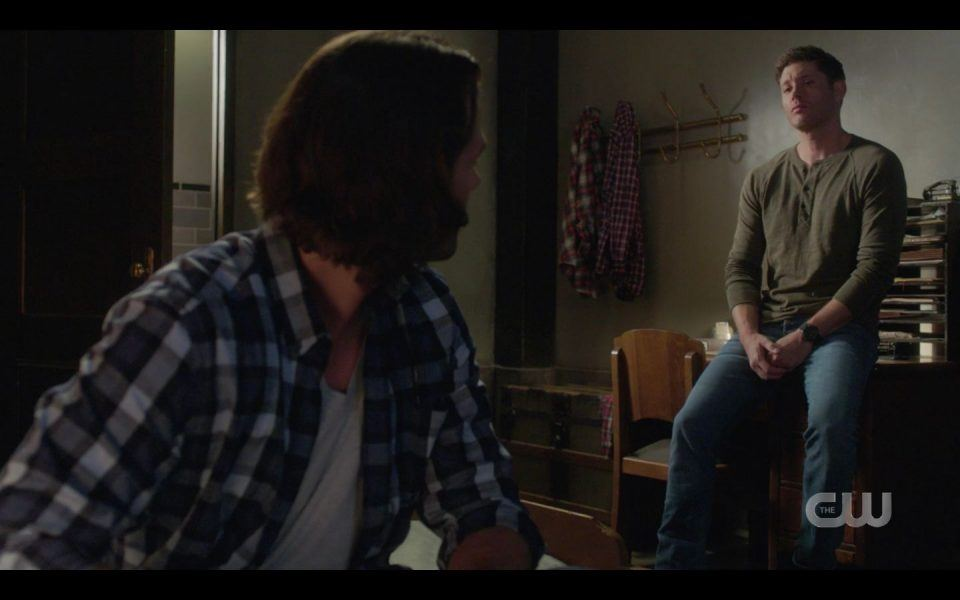 Dean to Sam How you holding up SPN 1503