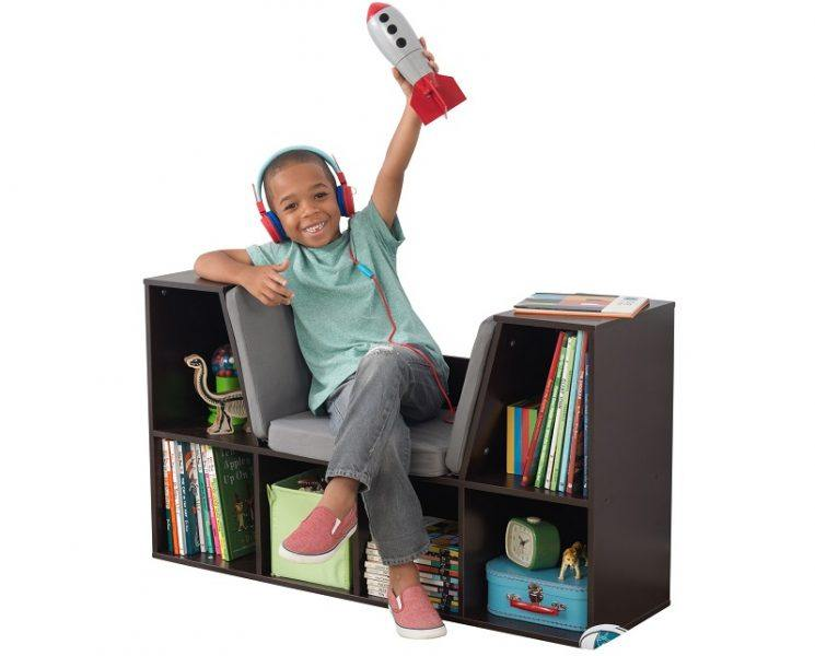 KidKraft Bookcase with Reading Nook Toy 2019 hottest holiday home gifts ideas