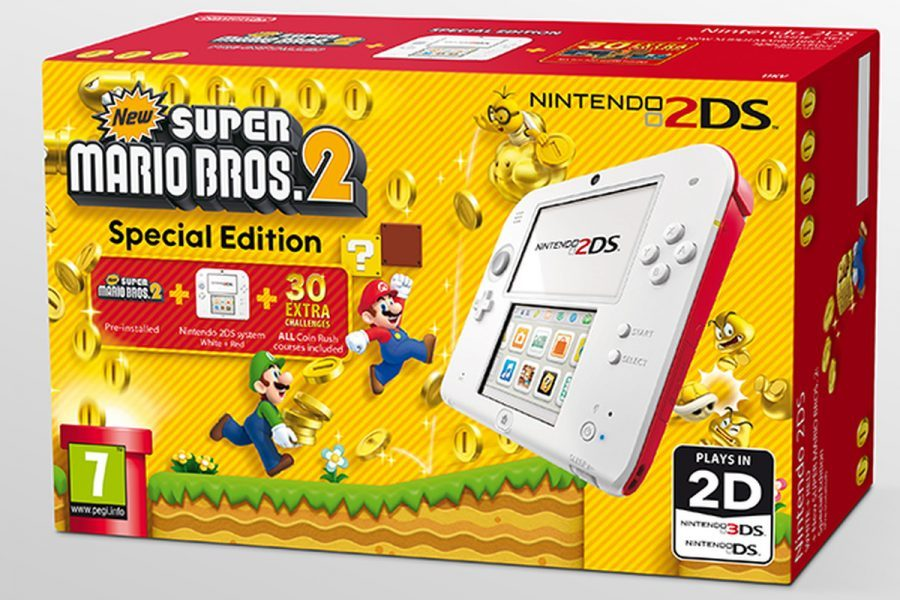 Nintendo 2DS - New Super Mario Bros. 2 Edition 2019 hottest holiday gaming gift ideas