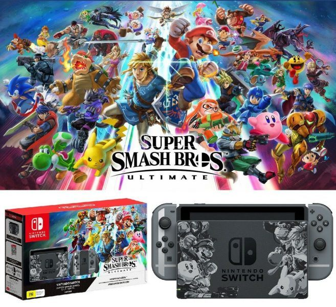 Nintendo Switch Super Smash Bros. Ultimate Edition 2019 hottest gaming holiday gifts