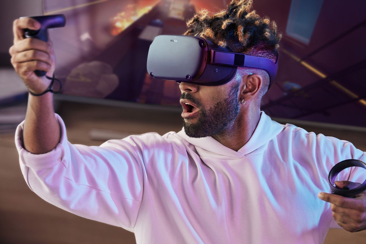 Oculus Quest All-in-one VR Gaming Headset 2019 hottest tech geek gifts