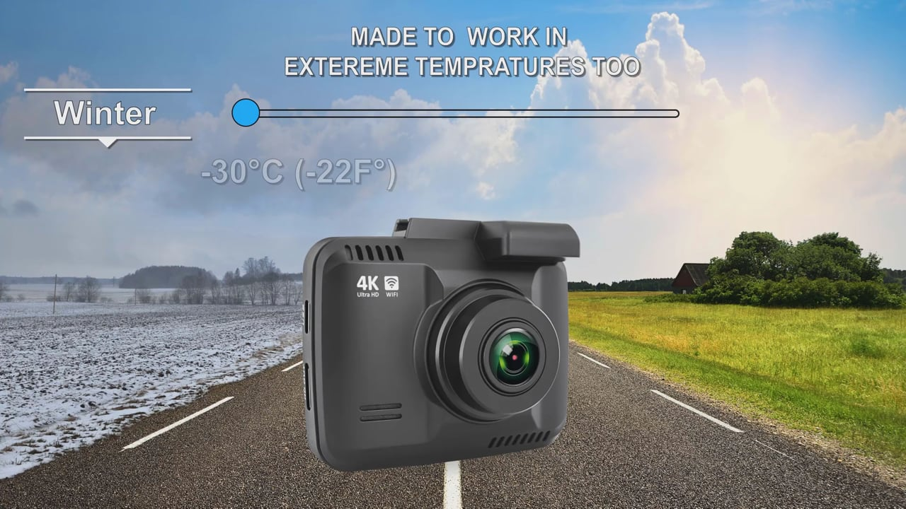 Rove R2-4K Dash Cam 2019 hottest tech gadget geek gifts