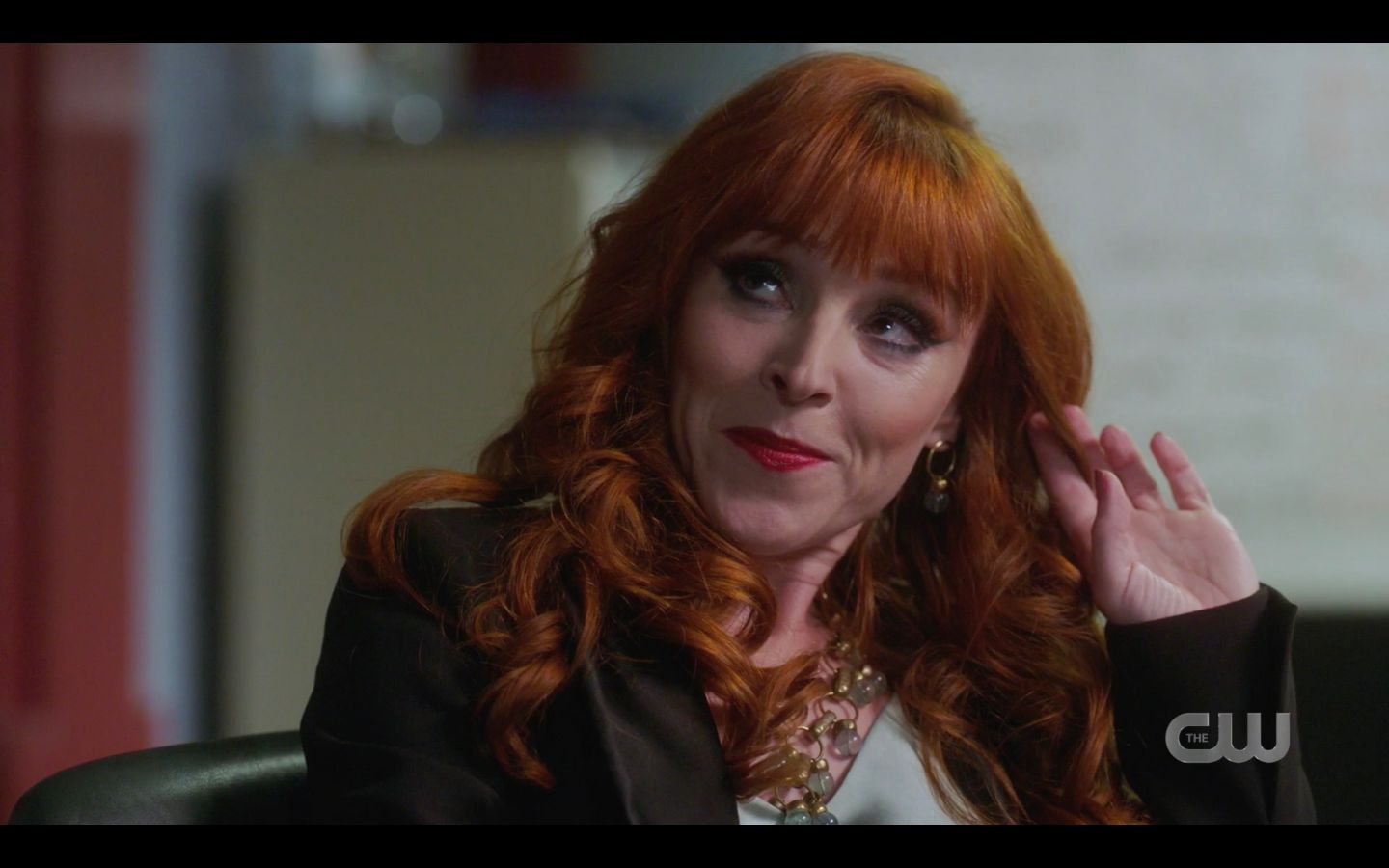 Rowena smiling flirty Supernatural Raising Hell