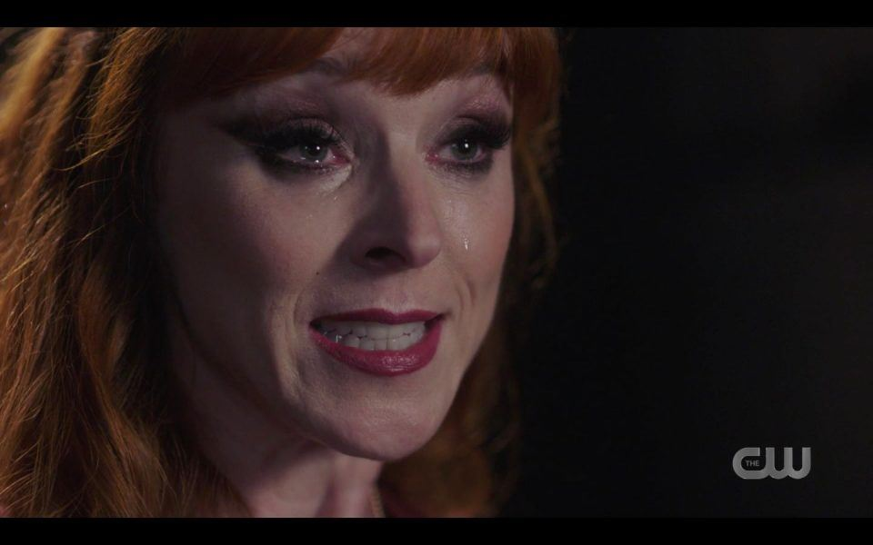 Rowena tells Sam Winchester he has to kill her for spell to save world