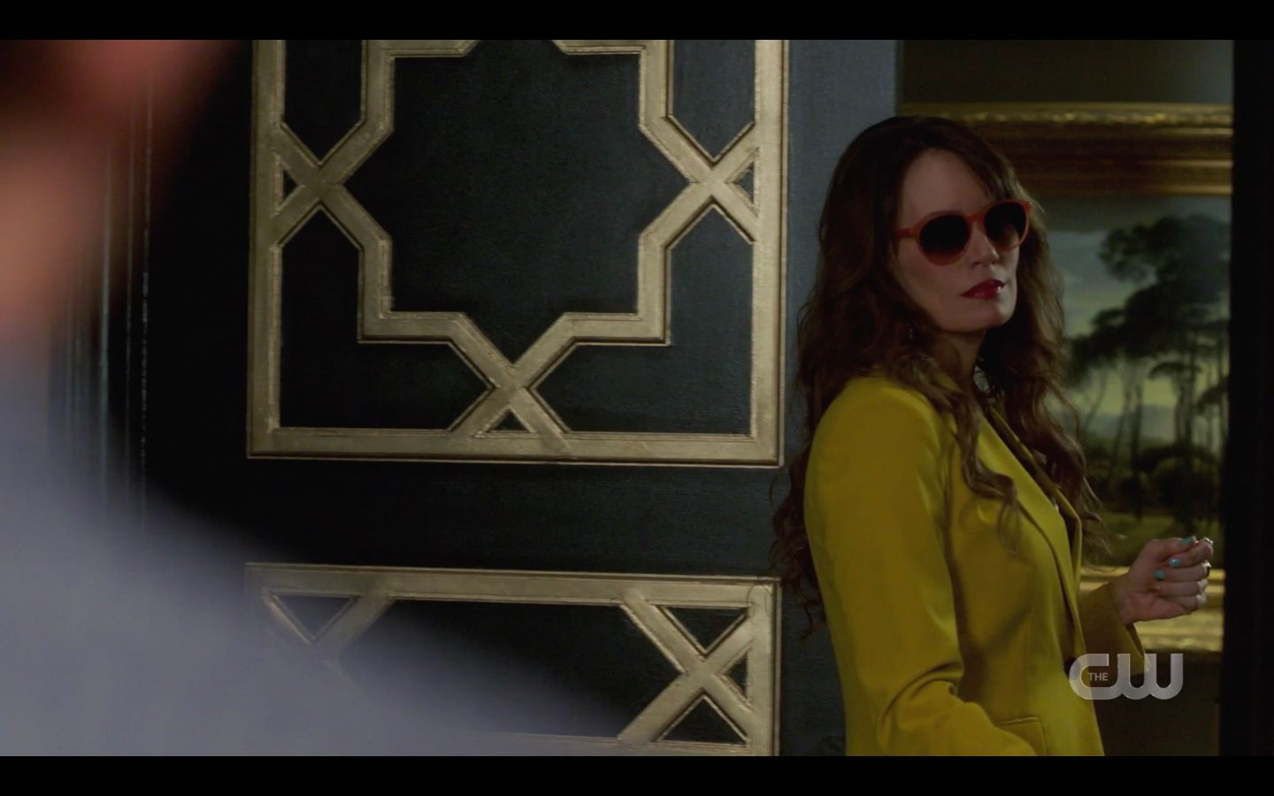 SPN Amara sunglasses on getting revenge on Chuck Raising Hell